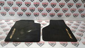2004 2006 Dodge Ram Srt 10 Viper Truck Yellow Fever Oem Floor Mats Embroidered