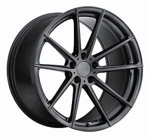 20 Staggered Tsw Bathurst Gunmetal Wheels Rims Tires Package 5x4 5 Ford Mustang