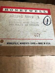 Honeywell 3 Switch Electric Heat Relay New In Box Free Shipping
