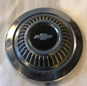 Chevrolet Hubcap Dog Dish 1966 1967 Chevy Chevelle Malibu 10 5 Inches Single