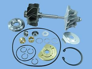 Borg Warner S400sx475 T6 Twin Scroll Turbo Comp Wheel Shaft Rebuild Kit
