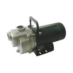 Dayton Self Priming Pump 1 Hp aluminum 4ykp3