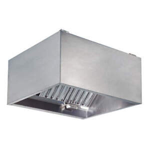 Dayton 430 Stainless Steel Commercial Kitchen Exhaust Hood ss 48 In 20ud05