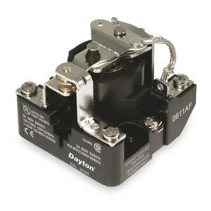 Dayton Open Power Relay 5 Pin 12vdc spdt 5z552