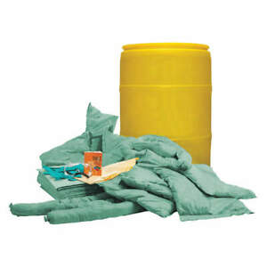 Condor Spill Kit Chem hazmat 35zr86 Yellow