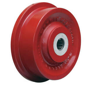 Grainger Approved Caster Wheel cast Iron 6 1 8 In 2500 Lb Wft 6h 1