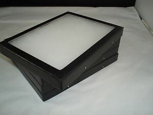 Six Jewelry Display Case Riker Mount Display Box Shadow Collection Polyfoam 5x6