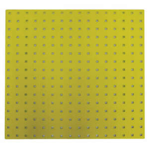Pegbrd Panel 24 squr Hole yellow pk2 5tpc2