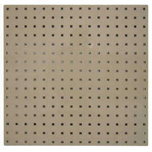 Pegbrd Panel 24 squr Hole tan pk2 5tpc4