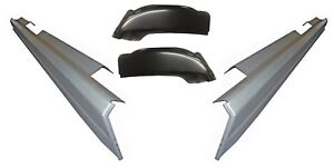 1999 07 Chevy Silverado Sierra 4dr Crew Cab Rocker Panels And Cab Corners Kit