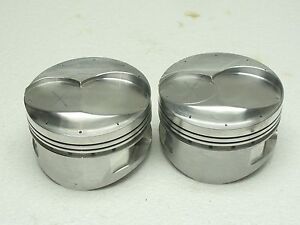 2 Venolia 460 Ford Forged Racing Pistons 4 440 Bore 990 Pins Top Gas Port