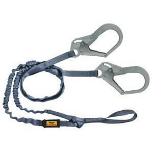 Condor Shock absorbing Lanyard 6 Ft 310 Lb 45j288 Blue