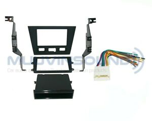 Radio Stereo Installation Mounting Dash Kit Combo Sd dd Wire Harness Ac15