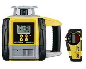 Geomax Zone60hg Semi automatic Dual Grade Laser With Zrb35 Basic Receiver 601065