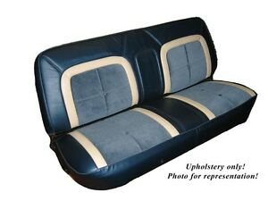 1973 79 Ford Truck Ranger deluxe Front Bench Seat Upholstery 5 Color Choices