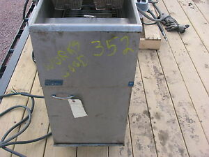 Pitco Frialator Single Well Deep Fryer
