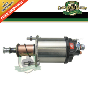 D7nn11390a New Starter Solenoid For Ford Tractors 2000 3000 4000 5000 3900