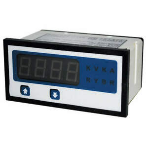 Grainger Approved Digital Panel Meter process 4 To 20ma Dc 12g522