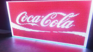 Smart Led Sign 3 x5 Programmable Full Color Led Sign For Outdoor Installation