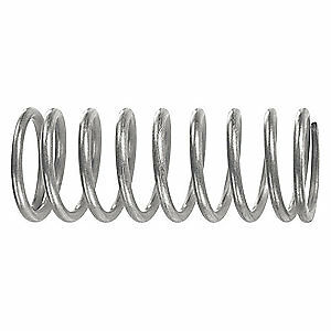 Spec Music Wire Compression Spring 7 3 Lb in Rate pk10 C11000854500m Silver