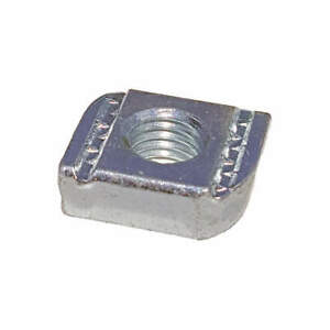 Grainger Approv Steel Channel Springless Nut 5 8in silver pk25 V220 5 8 Silver