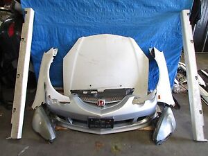 Jdm 02 04 Honda Integra Type R Dc5 Front Conversion Bumper Fender Hood Headlight