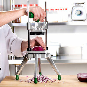 3 8 Vegetable Fruit Dicer Onion Tomato Slicer Chopper Restaurant Commercial Nsf