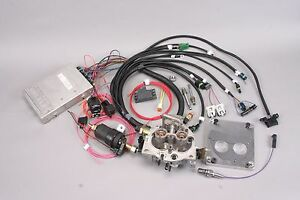 Tbi Throttle Body Fuel Injection Kit For Most Stock V8 Engines