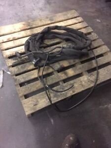 Esab Miller Lincoln 15 Welding Leads Wire Feed Leads 15 Foot Long