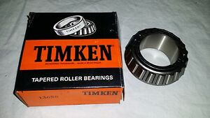 New In Box Tapered Roller Wheel Bearing Timken 13686 Od 2 7 Id 1 5 Usa Made