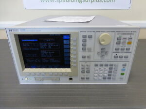 Agilent Hp 4155b Semiconductor Parameter Analyzer Calibrated