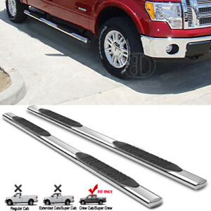 4 Running Boards For 2009 2017 Dodge Ram 1500 Crew Cab S s Nerf Bar Side Step