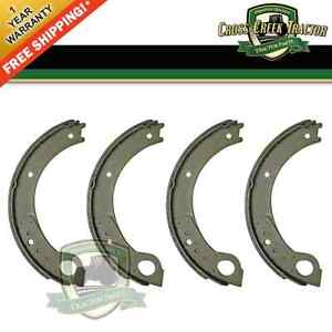 Nca2218b 4pc Brake Shoes For Ford Tractors 500 600 700 800 900 501 601 701 801