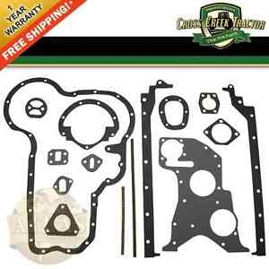 735350m91 New Massey Ferguson Tractor Bottom Gasket Set 65 165 30 40 50 302 304