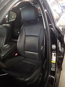 11 12 13 Bmw 528i 535i 550i Front Left Seat Bucket Black Lcsw Air Bag Leather