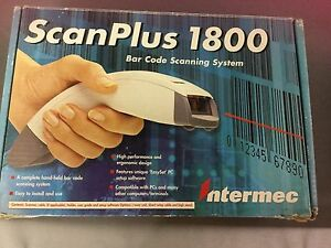 Intermec Scanplus 1800 Bar Code Scanning System