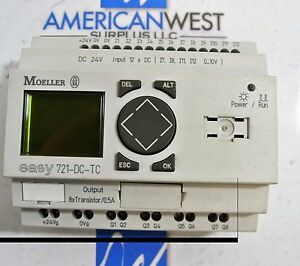 Moeller 721 dc tc Programmable Relay Easy700 Series 12 Inputs 8 Output 24vdc