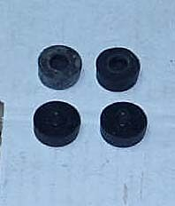 1967 Chevy Impala Caprice Belair Or Biscayne Hood Trunk Rubber Bumpers