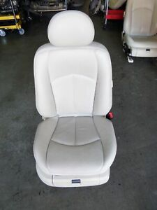Mercedes Benz E500 W211 Right Front Leather Seat White Cream 02 09 Oem