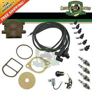 Tune Up Kit For Ford 9n 2n 8n Tractors With Front Mount Distributor Tukfd01