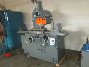 Very Nice Thompson 8 X 24 Hydraulic Surface Grinder Model 2f With Elec Chuck