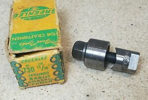 Greenlee No 730 11 16 Diameter Punch And Die Set Radio Chassis Punch