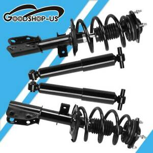 2x For 00 06 Mercedes S Class W220 S430 S500 Rear Air Suspension Shock Struts