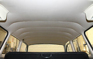 New Vw Type 3 Squareback Perforated Off white Headliner 1962 1973
