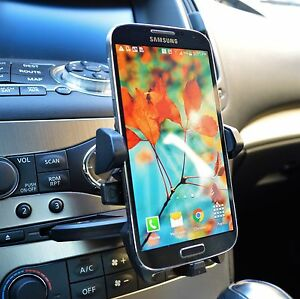 360 Car Dash Cd Slot Cell Phone Holder Mount For Samsung Galaxy S7 Edge S8 S9