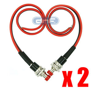 2 Pack Mini Push Button Pre wired Momentary N o Off on Switch Plug 12v 3amp Spst