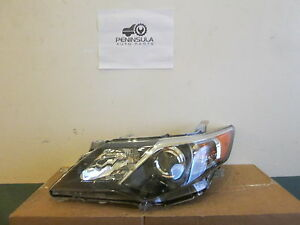 Oem Toyota Camry Se 2012 2013 2014 Left Driver Side Headlight Gin24
