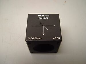 Thor labs Cm1 bp2 30 Mm Cage Cube mounted Pellicle Beamsplitter 45 55