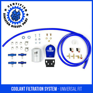 Sinister Diesel Coolant Filtration System For Universal Applications