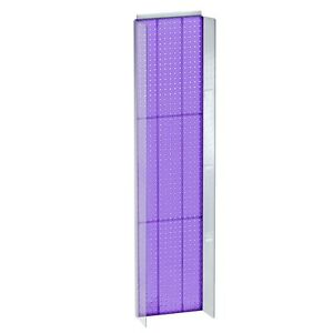 New Purple Plastic Pegboard Powerwing Display 14 w X 60 high